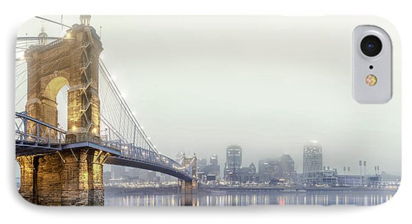Roebling In The Fog IPhone Case