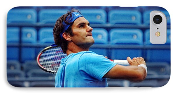Roger Federer  IPhone Case by Nishanth Gopinathan