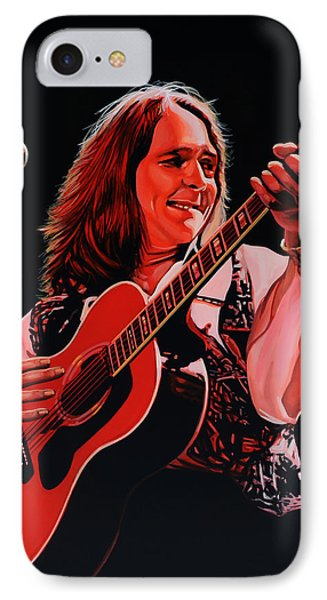 Roger Hodgson Of Supertramp IPhone Case by Paul Meijering
