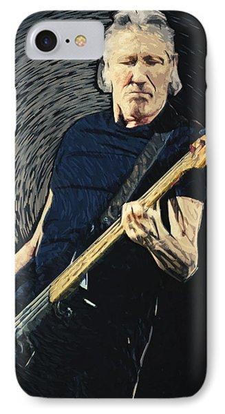 Roger Waters IPhone Case by Taylan Apukovska