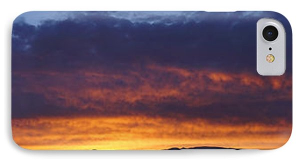 Rogue Valley Sunset Panoramic IPhone Case by Mick Anderson