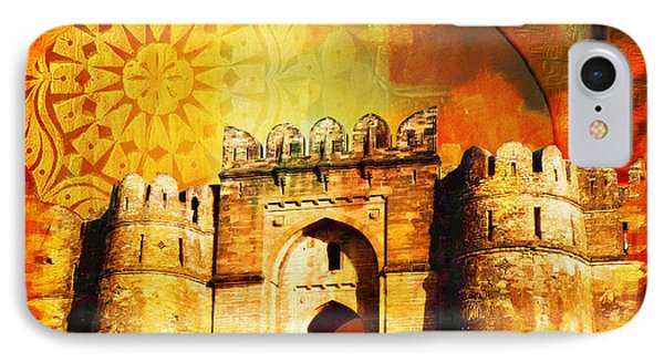 Rohtas Fort 00 Phone Case by Catf