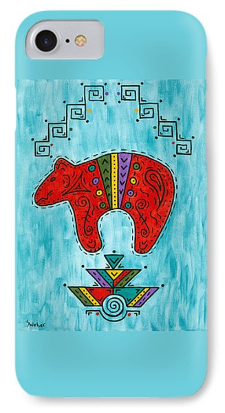 Rojo Oso IPhone Case by Susie WEBER