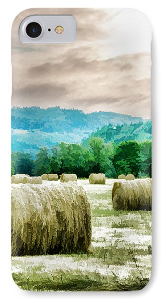 Rolled Bales IPhone Case by Mick Anderson