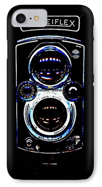 Rolleiflex 1950's IPhone Case by Michael Dohnalek