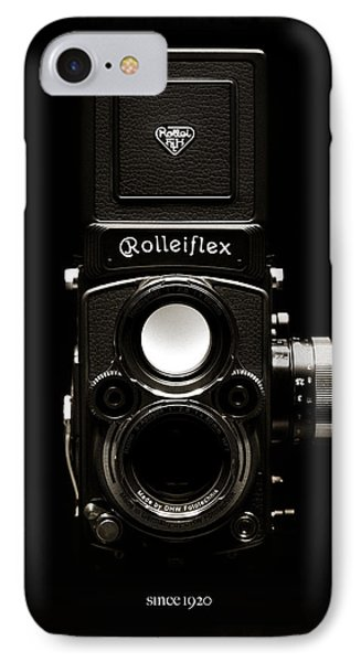 Rolleiflex Tlr IPhone Case by Dave Bowman