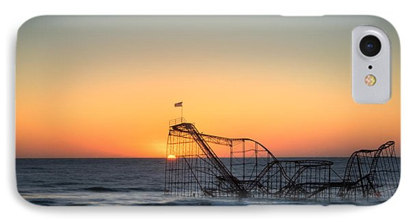 Roller Coaster Sunrise Phone Case by Michael Ver Sprill