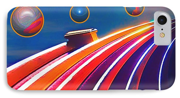 Rollerball Phone Case by Wendy J St Christopher