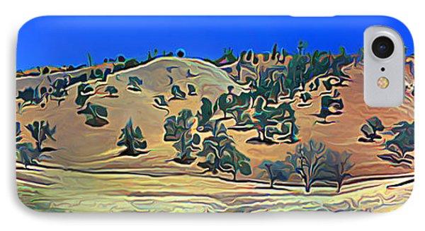 Rolling Hills In The Summer IPhone Case by Wernher Krutein