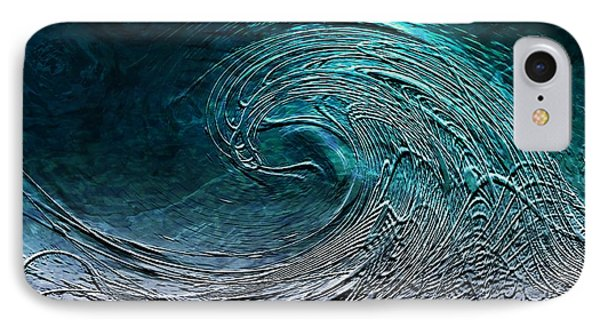 Rolling In The Deep Phone Case by Barbara Chichester