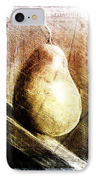 Rolling Pear IPhone Case by Andrea Barbieri