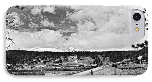 Rollinsville Colorado Small Town 181 In Black And White Phone Case by James BO  Insogna