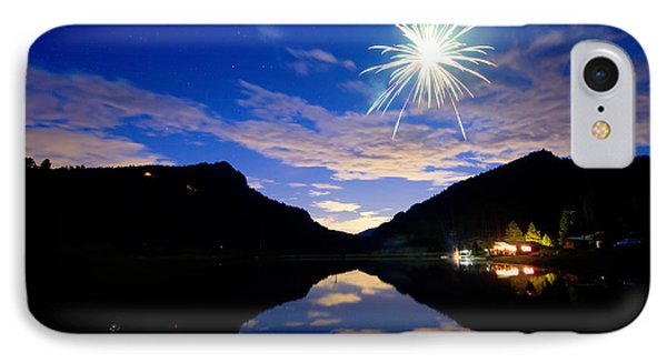 Rollinsville Yacht Club Fireworks Private Show 52 Phone Case by James BO  Insogna