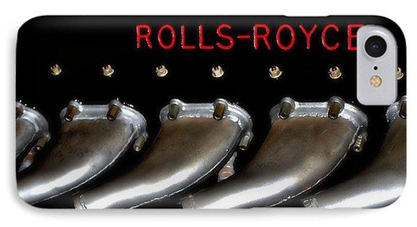 Rolls Royce Merlin 62 IPhone Case