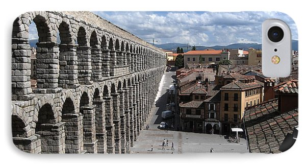 IPhone Case featuring the photograph Roman Aqueduct I by Farol Tomson