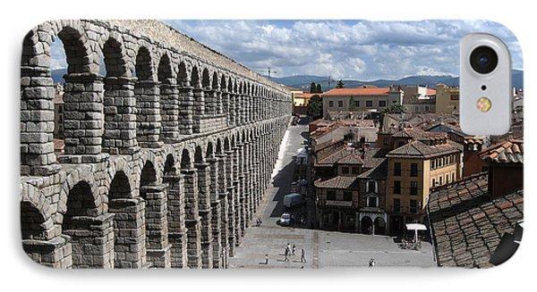 Roman Aqueduct I IPhone Case by Farol Tomson