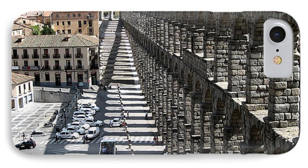 IPhone Case featuring the photograph Roman Aqueduct II by Farol Tomson
