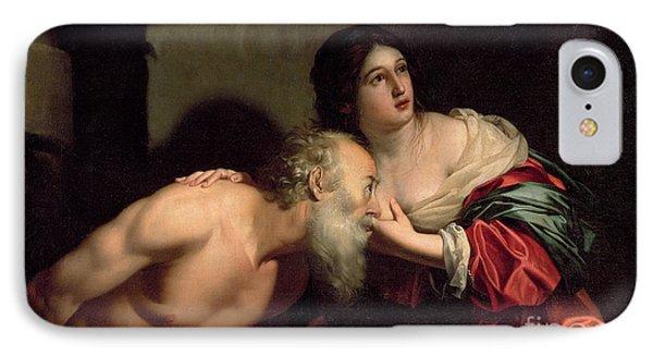 Roman Charity IPhone Case by Nicolas Regnier
