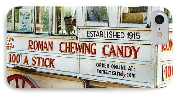 Roman Chewing Candy Nola Phone Case by Kathleen K Parker