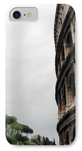 IPhone Case featuring the photograph Roman Coliseum by Tiffany Erdman