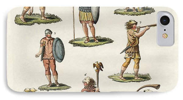 Roman Foot Soldiers IPhone Case