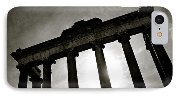 Architecture iPhone 7 Case - Roman Forum by Dave Bowman