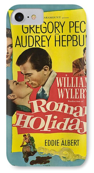 Roman Holiday - 1953 IPhone Case by Georgia Fowler