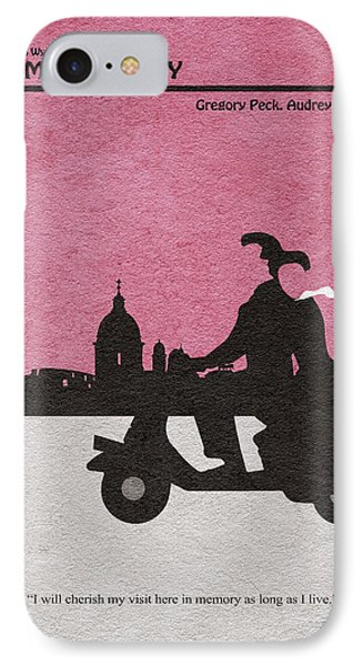 Roman Holiday IPhone 7 Case by Ayse Deniz
