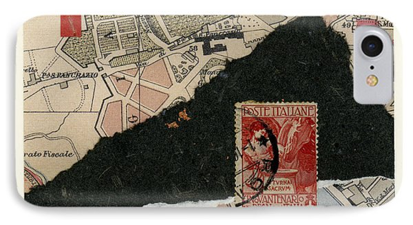 Roman Map Collage IPhone Case