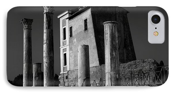 Roman Ruin At Palatine Hill IPhone Case by Julian Cook