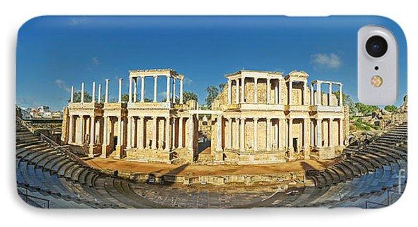 roman theatre in Merida Phone Case by Rudi Prott