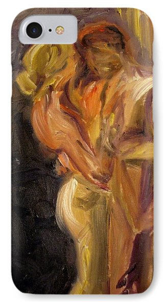 IPhone Case featuring the painting Romance by Donna Tuten