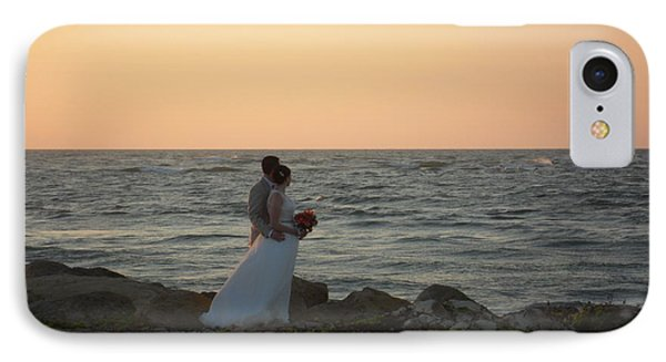 Romance In Captiva IPhone Case by Val Oconnor