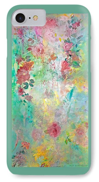 IPhone Case featuring the painting Romance Me - Acrylic On Canvas by Brooks Garten Hauschild