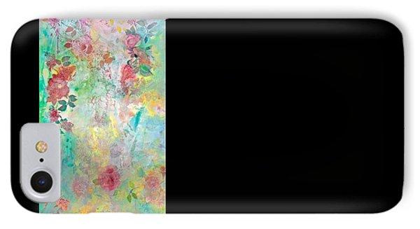 Romance Me - Acrylic On Canvas IPhone Case by Brooks Garten Hauschild