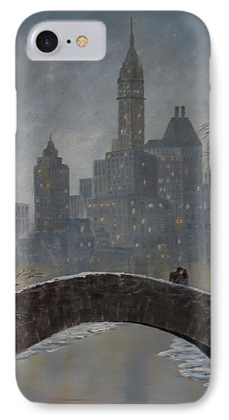 Romance On Gapstow Bridge IPhone Case