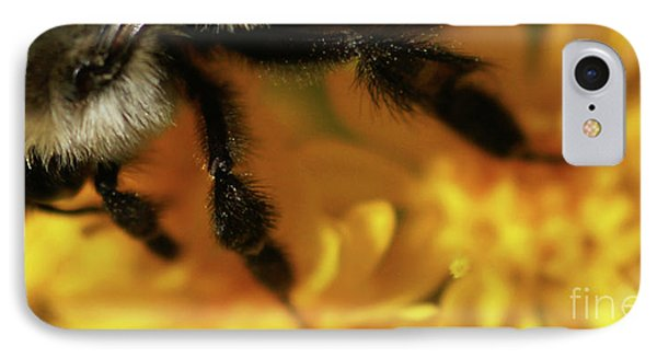 Romancing Yellow Phone Case by Linda Shafer