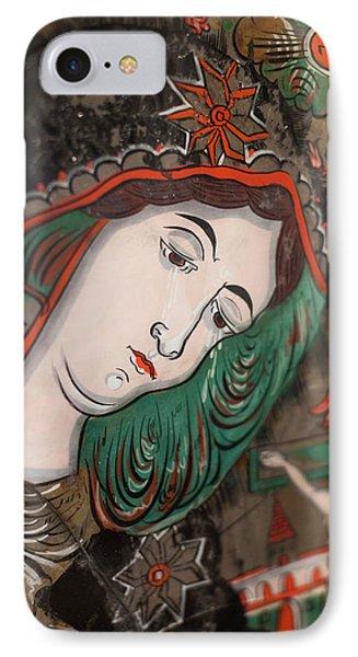 Romania, Transylvania, Sibiel, Glass IPhone Case by Walter Bibikow