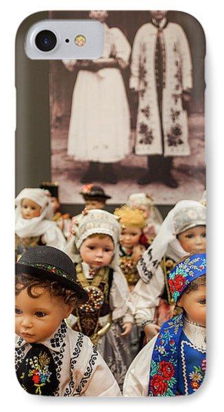 Romania, Transylvania, Sibiu, Casa IPhone Case by Walter Bibikow