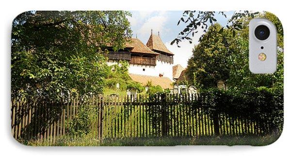 Romanian Fortified Church Phone Case by Ramona Matei
