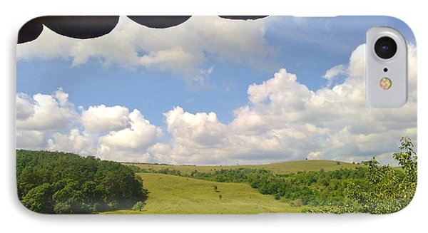 IPhone Case featuring the photograph Romanian Hills by Ramona Matei