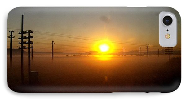 IPhone Case featuring the photograph Romanian Sunset by Giuseppe Epifani