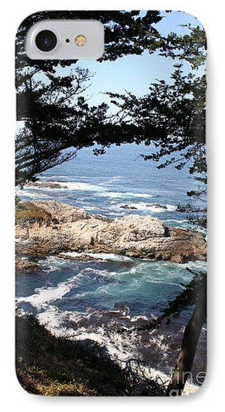 Romantic California Coast IPhone Case by Christiane Schulze Art And Photography