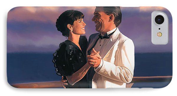 IPhone Case featuring the painting Romantic Cruise by Tim Gilliland