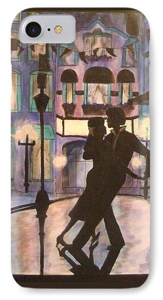 Romantic Dance Phone Case by Lynne McQueen