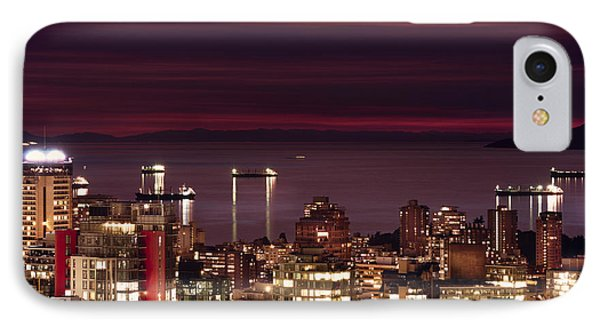 IPhone Case featuring the photograph Romantic English Bay Mdcci by Amyn Nasser