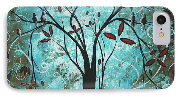 Romantic Evening By Madart Phone Case by Megan Duncanson