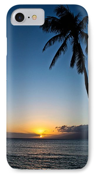 Romantic Maui Sunset IPhone Case by Joann Copeland-Paul