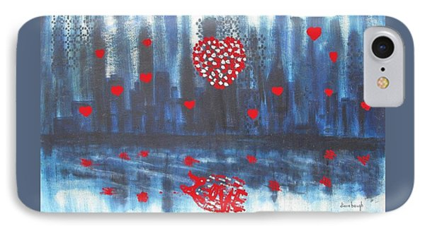 Romantic Reflection Phone Case by Diane Pape