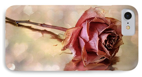 Romantic Rose IPhone Case by Jessica Jenney